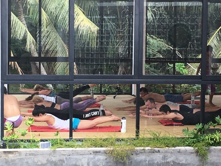 Work hard inferno hot pilates at ubud yoga centre