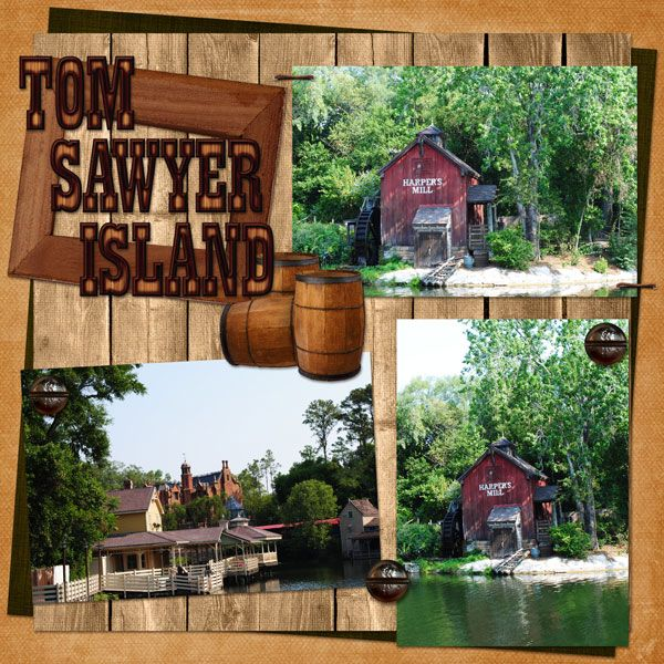 Tom Sawyer Island Disney