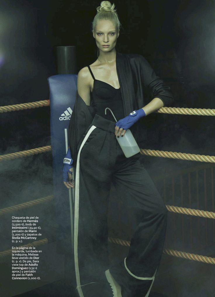 visual optimism; fashion editorials, shows, campaigns & more!: primer asalto: melissa tammerijn by jonas bresnan for s moda el pais 13th september 2014