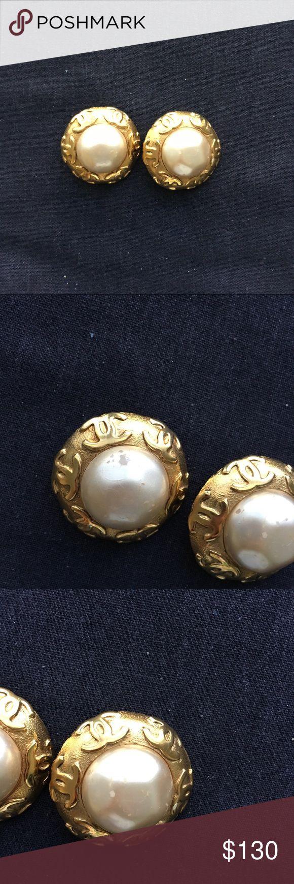 chanel earrings price. chanel 2 9 coll jumbo earrings repost price drop price