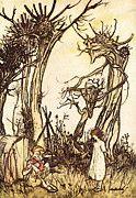"""New artwork for sale! - """" Rackham Arthur Mother Goose Man In The Wilderness by Arthur Rackham """" - http://ift.tt/2o7mgbg"""