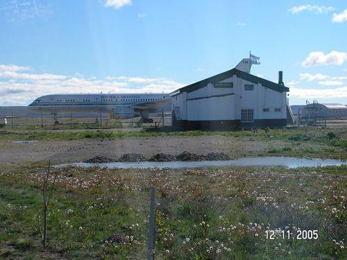 Avion Presidencial, Aeropuerto Rio Gallegos, Santa Cruz, Argentina