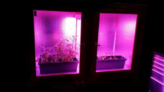 Cold Weather All Season Micro Grow House / Greenhouse by LEDVeg