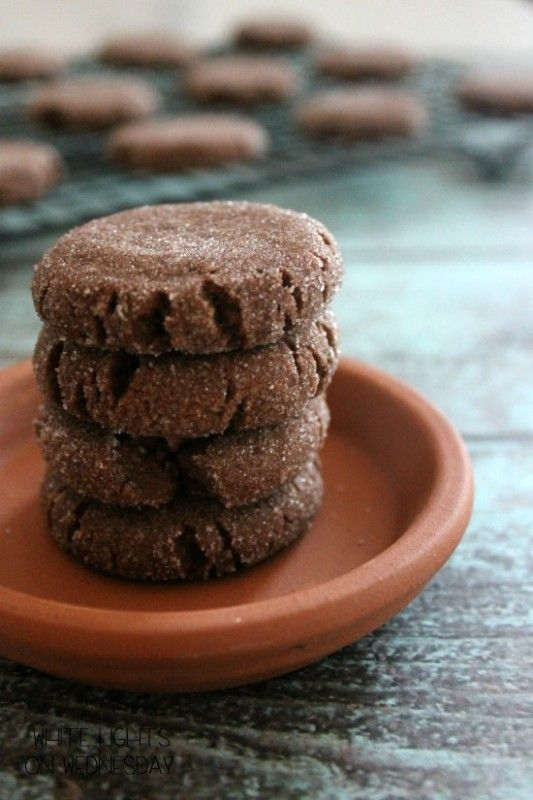 Mexican Hot Chocolate Shortbread | White Lights on Wednesday