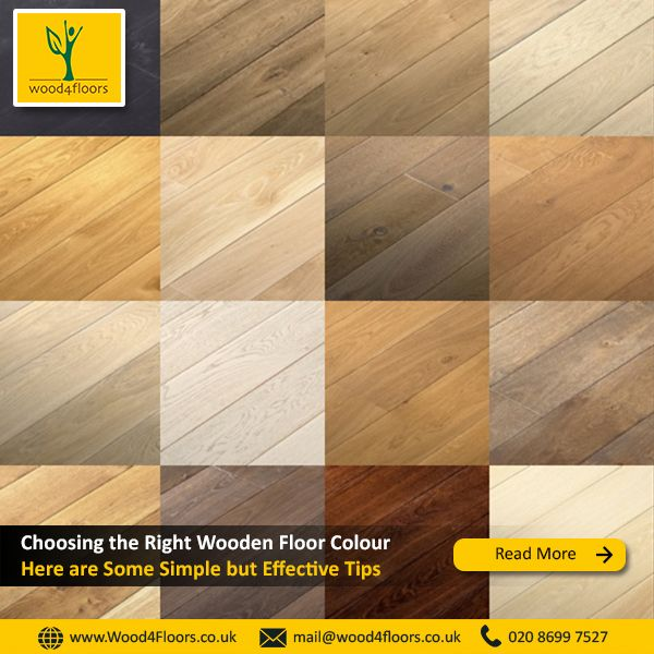How To Choose Right Wooden Floor Colour For Home Other Spaces