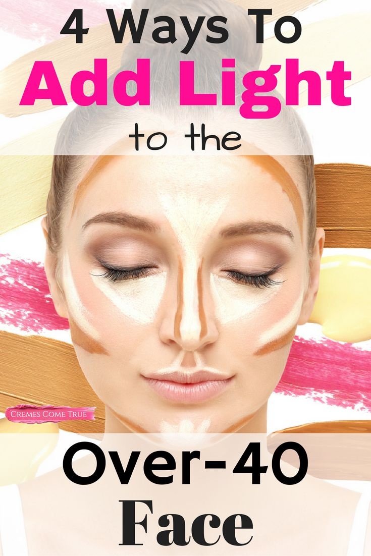 Tips to sensational summer skin - Contouring May Be Too Much For Over 40 Skin But Adding Light Can Take