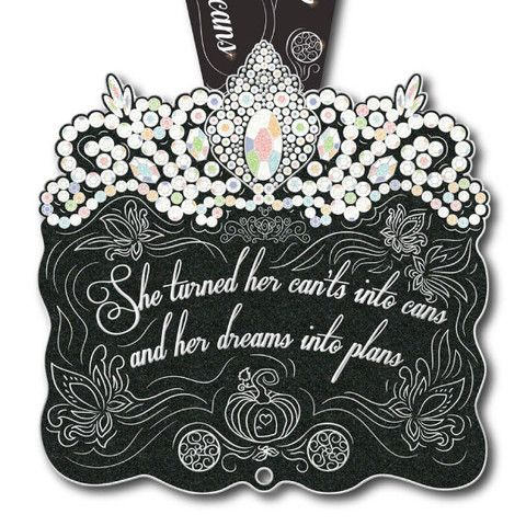 Dreams Into Plans Virtual Run Medal  This is pretty awesome and SO me :)