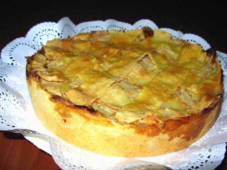 Receta de kuchen de manzana