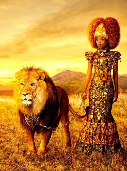 King and Queen of the Jungle |  Natural art via Tumblr