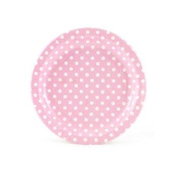 Pink Polka Dot Party Paper Plates  sc 1 st  Pinterest & 11 best Paper plates images on Pinterest | Paper plates Party ...