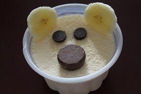 Polar bear cups for a special treat! :)