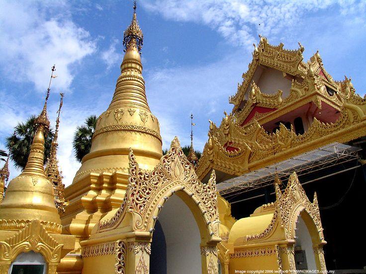 Wat Dhammikarama Burmese Buddhist Temple, Penang, Malaysia - Part II