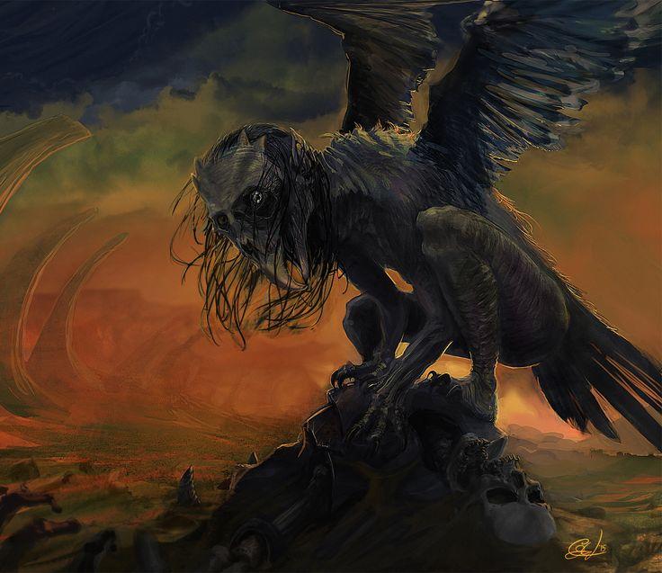 Queen of the Harpies