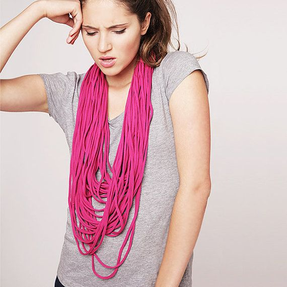 Zamotki Jersey Necklace Loop scarf infinity by CADOaccessories, $29.99