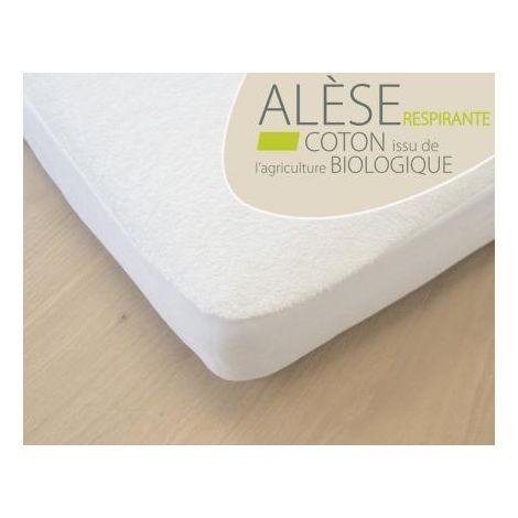 Alèse Berceau  offrant une protection imperméable en Polyuréthane et non en PVC. Grâce au polyurethane, cette  alèse  est entièrement Imperméable mais en même temps respirante. Elle protège le matelas des fuites, tout en garantissant une respiration...