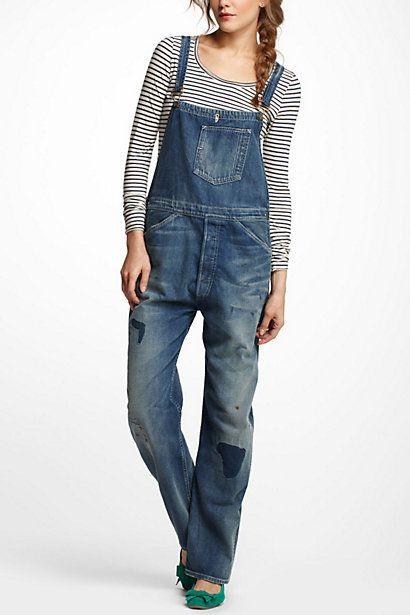 I <3 overalls     Levi's Vintage Clothing Bib & Brace Overalls #anthropologie