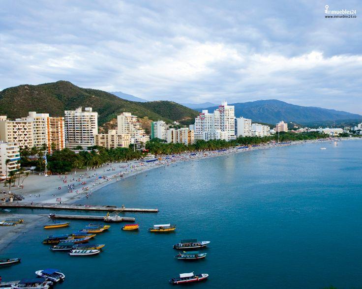 Santa Marta (Colombia); destino de paisajes, sol y playa. Medellín, la ciudad de la eterna primavera.#Medellin #Metro #Colombia #Paisajes #SantaMarta #Vacaciones #Colombia #ColombiaTurista #LandScape