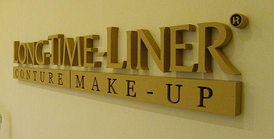 Beltéri dekoráció - 3D plasztikus felirat / Indoor decoration - 3D letter sign