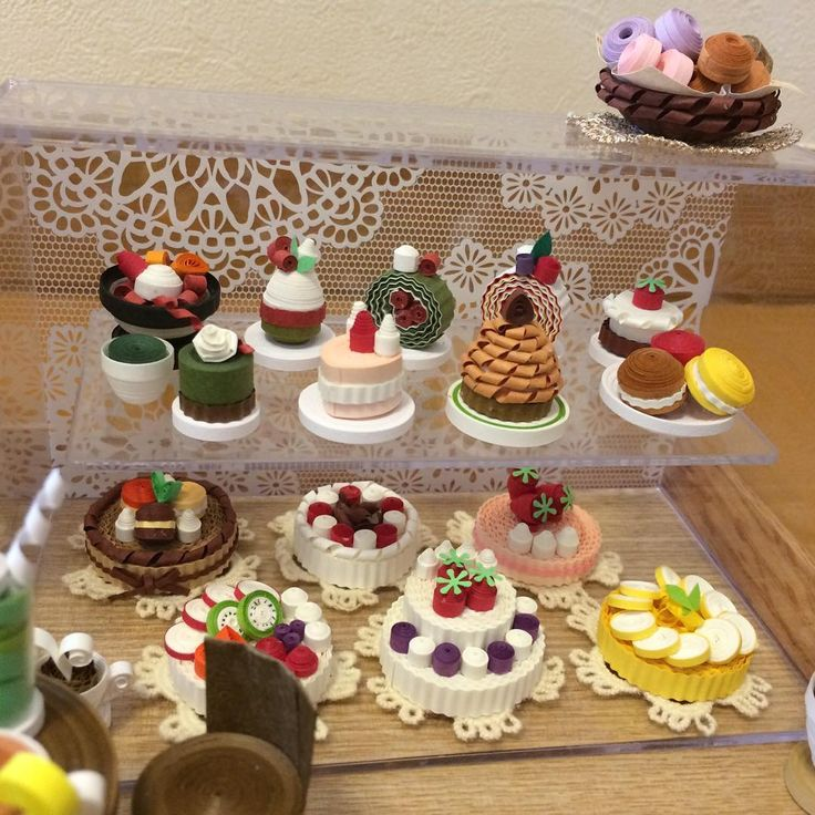Pin by suzanne van der doef on quilling verjaardag en for Quilling kitchen set