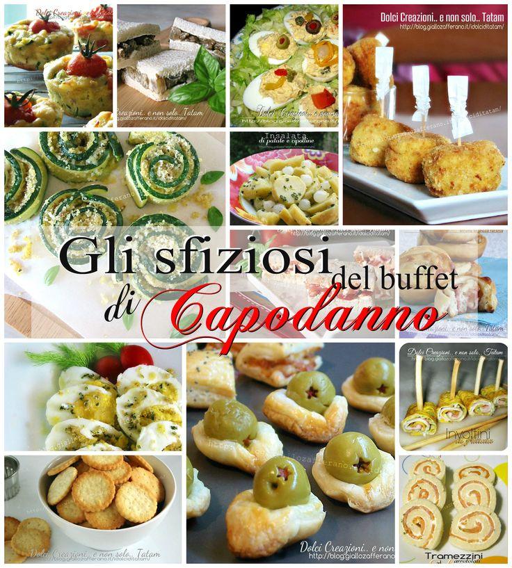 Gli sfiziosi del buffet di Capodanno | raccolta finger food