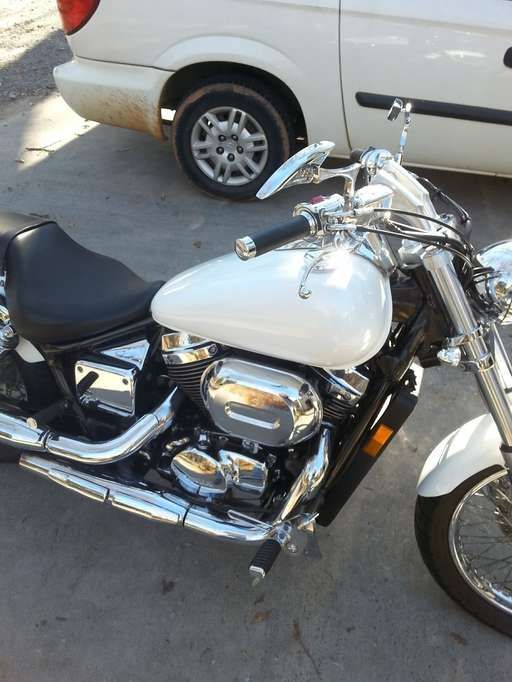 Check out this 2006 Honda Shadow SPIRIT 750 listing in fort mill, SC 29707 on Cycletrader.com. It is a Cruiser Motorcycle and is for sale at $3800.