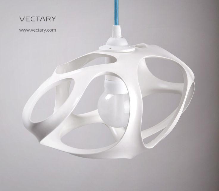 Weekend DIY project: 3D printed lamp Vivia #interior #lamp #3Dprinting #interiordesign #pendant #ikeahack #homedecor #living room #diyideas #diy #interior #furniture #pendantlamp