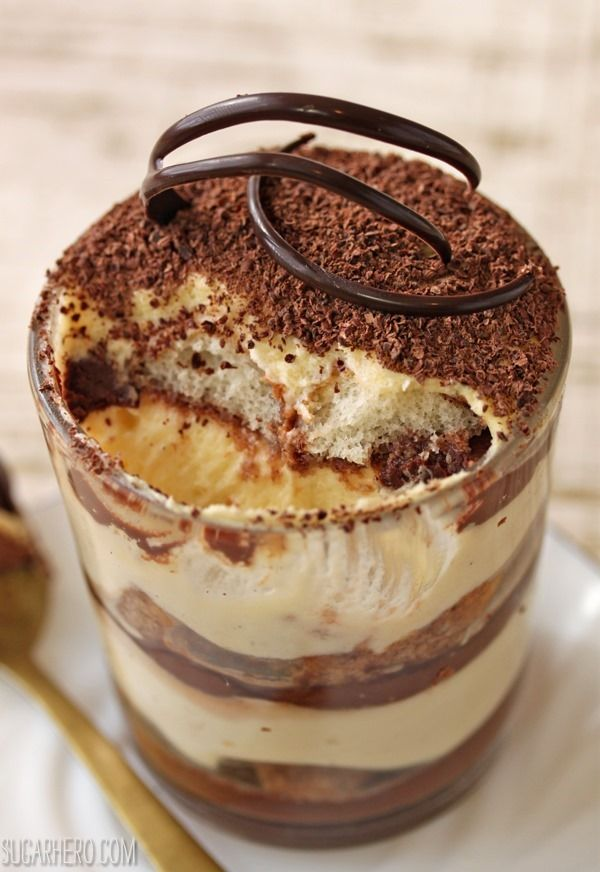 Serve this classic dessert to your guests topped with whipped cream and flavor of #chocolate!  - I would still add coffee. Gotta have coffee in tiramisu!