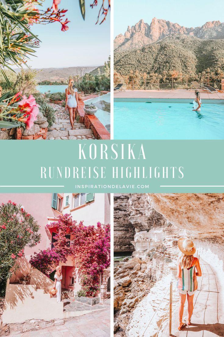 Korsika Rundreisetipps – Schönste Strände, Urlaubshighlights und Instagram Spots   – Travel