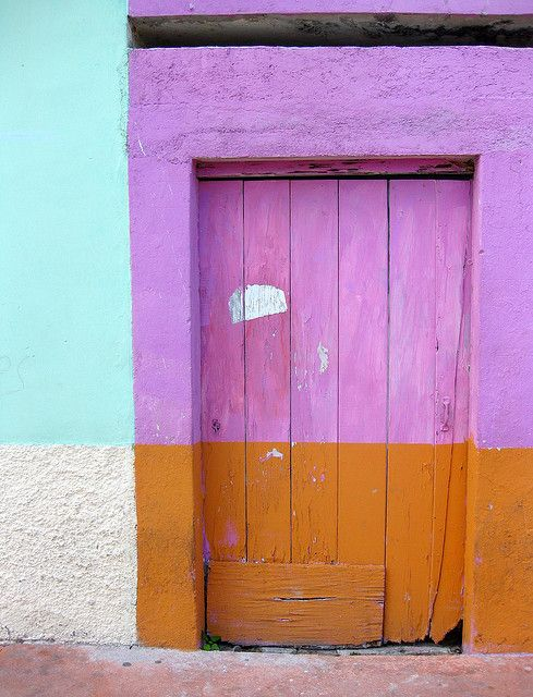 doors of Mexico #colors #architecture