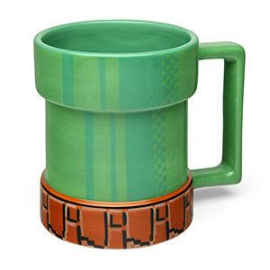 Warp into productivity with this classic Super Mario Bros warp pipe.