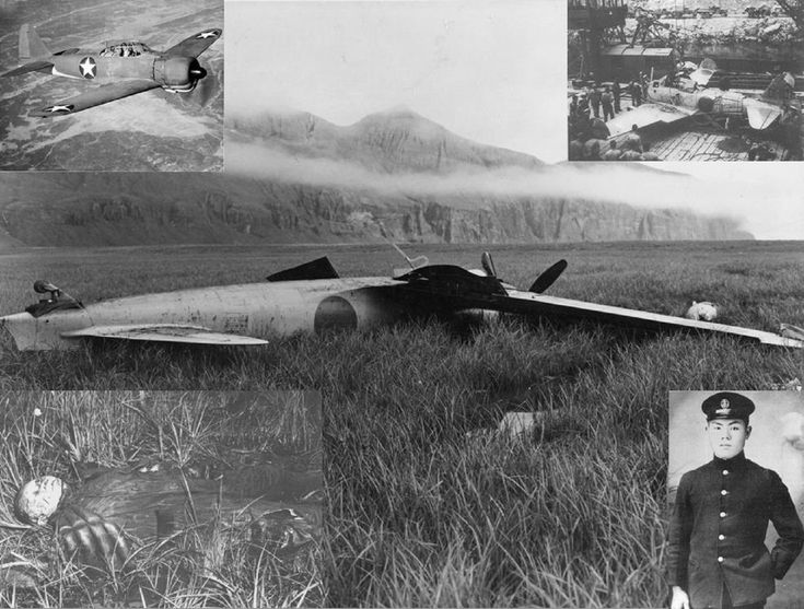 The Akutan Zero - the first intact to be captured by the US in 1942 and the last flight of Tadayoshi Koga
