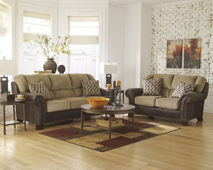 Rent to Own Ashley Vandive Sofa and Loveseat Set. 97 best Living Room images on Pinterest   Loveseats  Sofas and