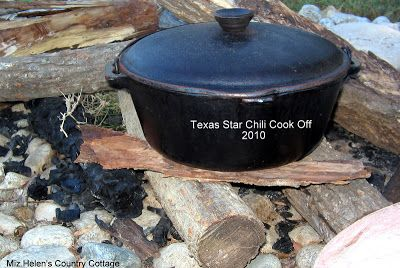 Miz Helen's Country Cottage: Texas Star Chili Cook-Off