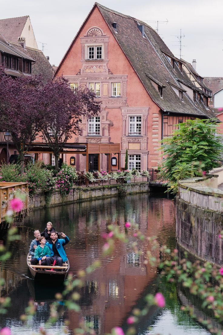Charming Colmar ~  Alsace Region, France,   by Rebecca Lily