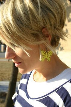 Image result for shaggy pixie cut round face