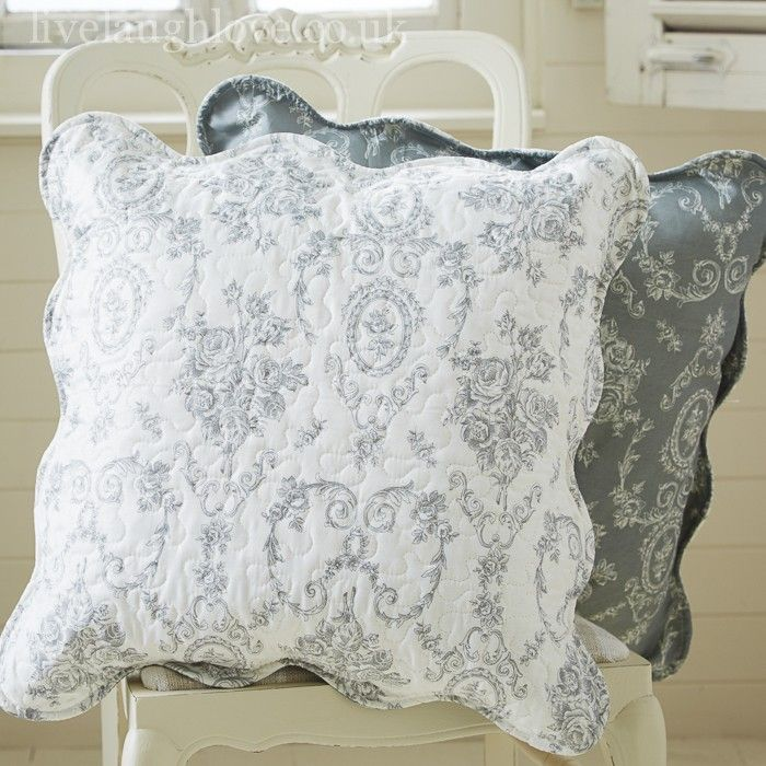 French Grey Cushion Cover 50cm
