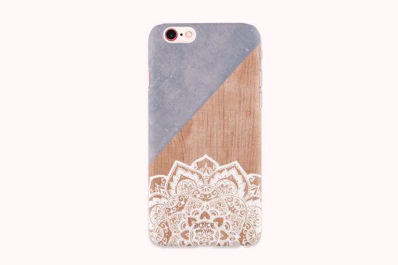 iPhone 6s case, iPhone 6s plus case, iPhone 6 Case, iPhone 6 Plus Case, iPhone 5S Case, iPhone SE Case, iPhone 5C Case - Blue Mandala