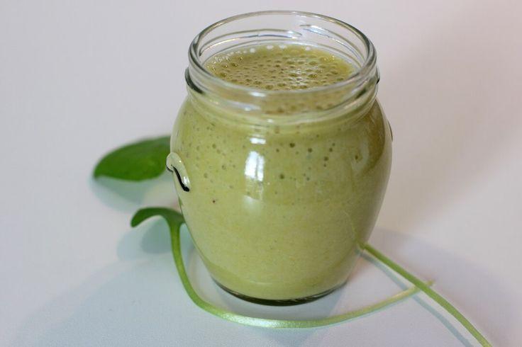Grüner Smoothie mit Portulak