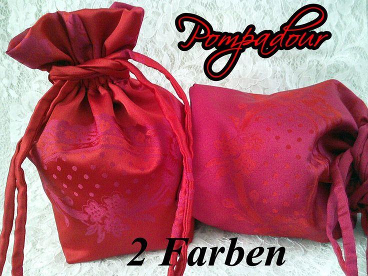 Handtasche - *Seiden-Pompadour*  65 - ein Designerstück von ikimmis-passion bei DaWanda