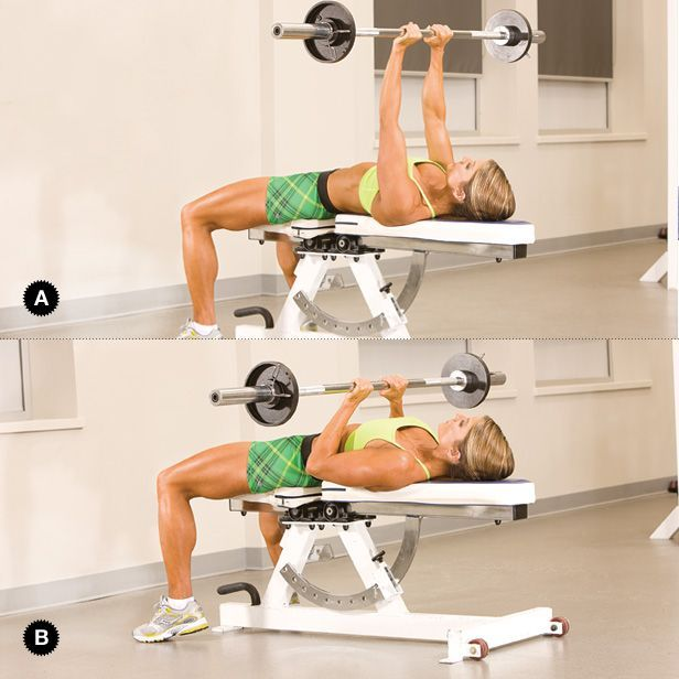 Free Weights Exercises: 26 Best Chest Training Images On Pinterest