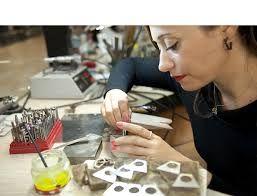 Organic Jewels by Emilie Bliguet. Designed in #Barcelona. www.albertalagrup.com
