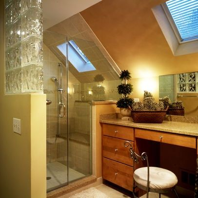 attic bathrooms with sloped ceilings | Bathroom Sloped Ceiling Design, Pictures, Remodel, Decor and Ideas