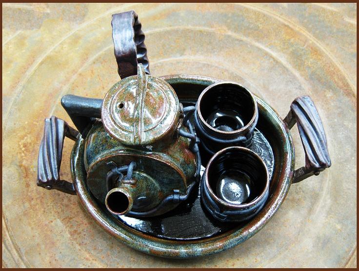 Industrial tea set