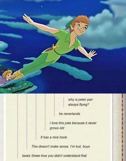 Peter Pan puns^.^Covers Book, Peter O'Tool, Peterpan, Book Covers, Funny Photos, Disney Humor, So Funny, Disney Movie, Peter Pan