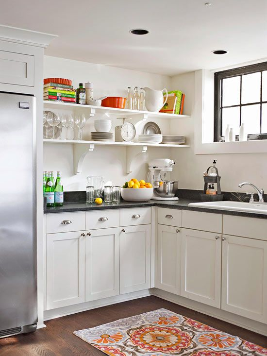 55 best images about kitchen open shelving on pinterest for Kitchen cabinets 2019