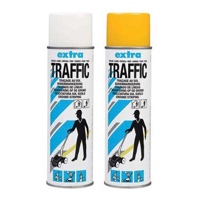 Traffic Extra Paint - Markeringspray - Bestil hos JO Safety.