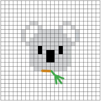 Cross Stitch diagram by Las Teje y Maneje