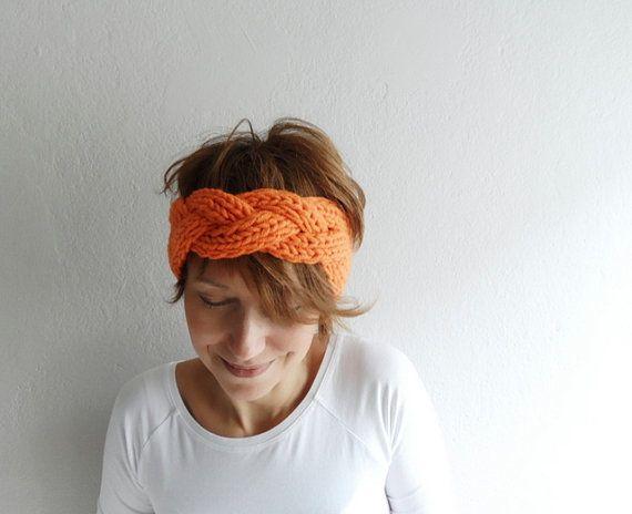 Chunky Headband Hand Knit Headband Headwrap Ear by fizzaccessory, $20.00