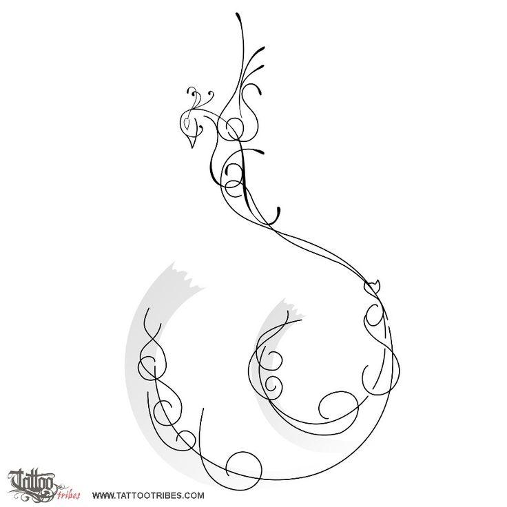 Tatuaggio di Fenice s+F, Rinascita tattoo - custom tattoo designs on TattooTribes.com