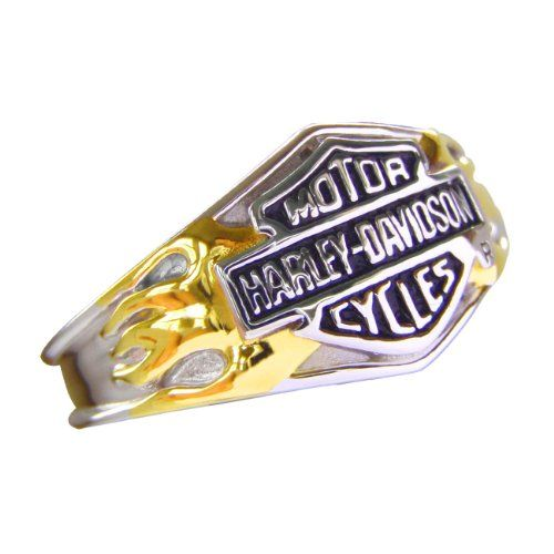 3b759e1ff Sterling Silver Harley-Davidson Ladies Classic Logo Ring http://bikeraa.com